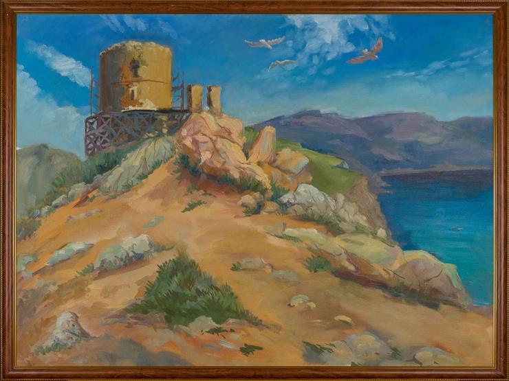 Крепость в Балаклаве